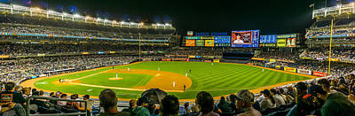 Sports Royalty-Free and Rights-Managed Images - Yankee Stadium by TL  Mair
