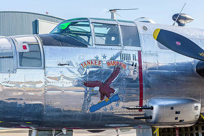 Photograph - Yankee Warrior - B-25 Bomber by Jack R Perry