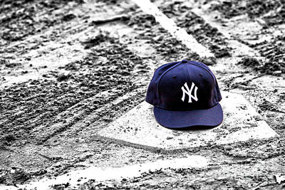 Photograph - Yankees Home Fusion by John Rizzuto
