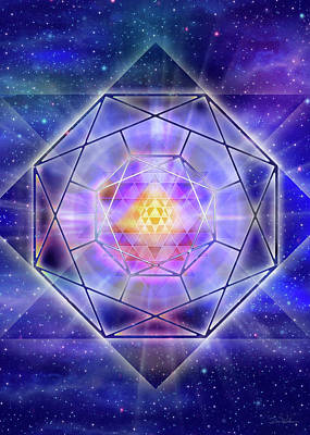 New Years - Yantra Space V020 by Daniel Holeman
