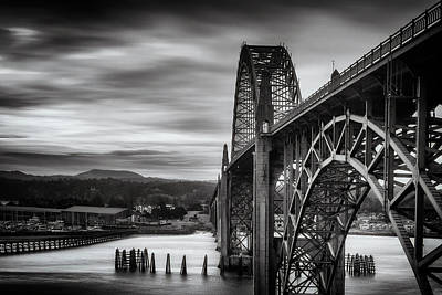 Photograph - Yaquina Bay Bridge by Andrew Soundarajan