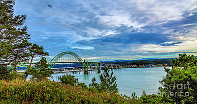 Photograph - Yaquina Bay Bridge by Jon Burch Photography