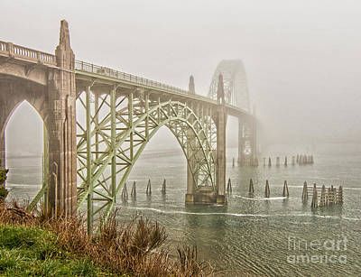 Photograph - Yaquina Bay Bridge - Newport, Or by Sonya Lang