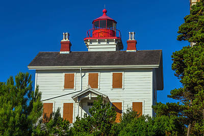 Yaquina Bay Lighthouse Art Print