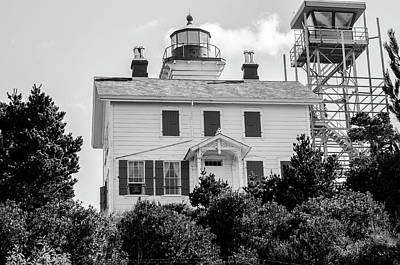 Photograph - Yaquina Bay Lighthouse by Steven Brodhecker
