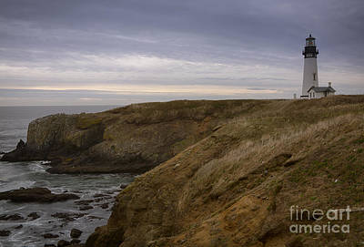 Photograph - Yaquina Head Light by Idaho Scenic Images Linda Lantzy