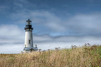 Photograph - Yaquina Head Light by Thomas Gaitley