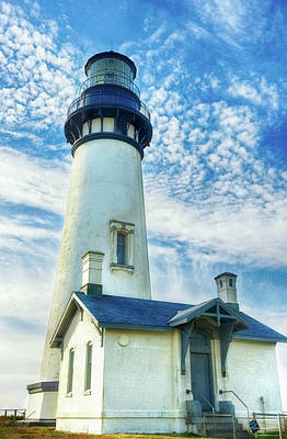 Photograph - Yaquina Head Lighthouse 2 by Lara Ellis
