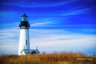 Photograph - Yaquina Head Lighthouse by Bruce Block