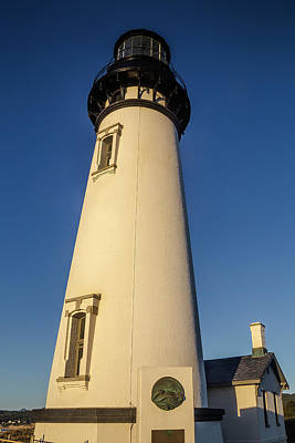 Yaquina Head Lighthouse Building Art Print