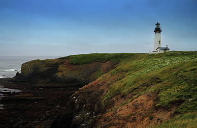 Photograph - Yaquina Head Lighthouse by Coby Cooper