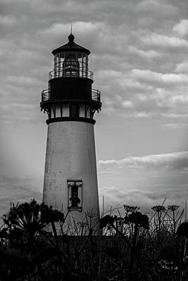 Photograph - Yaquina Head Lighthouse by David Millenheft