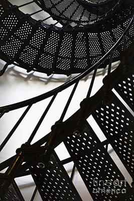 Photograph - Yaquina Head Lighthouse  by Elena Nosyreva