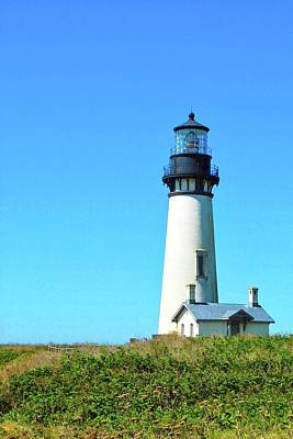 Photograph - Yaquina Head Lighthouse In Newport by Kirsten Giving