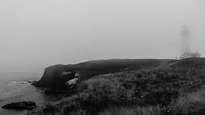 Photograph - Yaquina Head Lighthouse Oregon Coast 2 by Lawrence S Richardson Jr