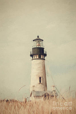 Photograph - Yaquina Head Lighthouse - Soft Pastel by Scott Pellegrin