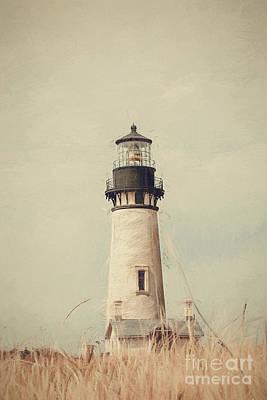 Photograph - Yaquina Head Lighthouse - Soft Pastel by Scott Pellegrin