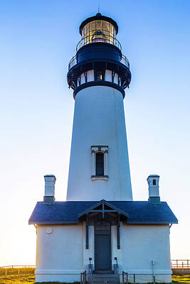 Yaquina Head Lighthouse Usa Art Print