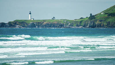 Photograph - Yaquina Head by Nick Boren