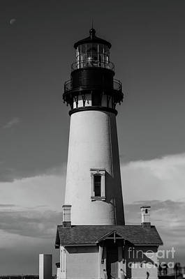 Photograph - Yaquina Light  by Along The Trail