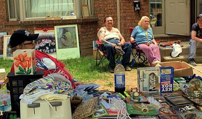 Photograph - Yard Sale by Douglas Pike