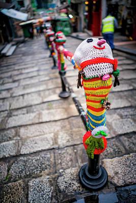 Hong Kong Photograph - Yarn Bombing by Sebastien Chort