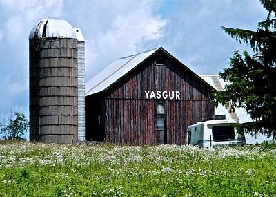 Photograph - Yasgur's Farm by Tana Reiff