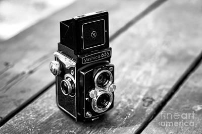 Photograph - Yashica 635 by John Rizzuto
