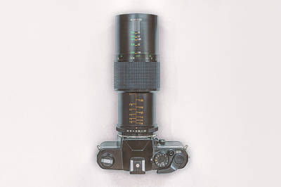 Camera Photograph - Yashica Fx-3 With 90mm Lens by Scott Norris