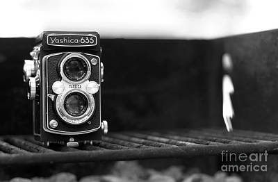 Photograph - Yashica On The Barbie by John Rizzuto