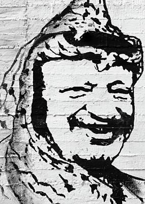 Photograph - Yasser Arafat by Munir Alawi
