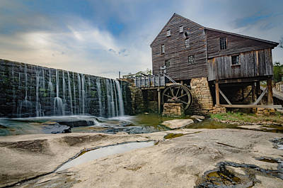Photograph - Yates Mill At Dusk by Anthony Doudt
