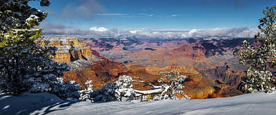 Photograph - Yavapai Point Panorama I by David Cote