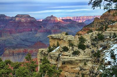 Photograph - Yavapai Point Sunset by Diana Mary Sharpton