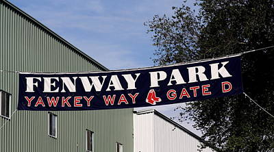 Yawkey Way II Print by Greg DeBeck