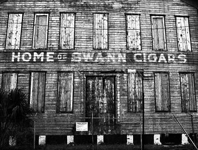 Cigar Factory Photograph - Home Of Swann Cigars by David Lee Thompson