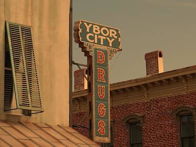 Ben Affleck Wall Art - Photograph - Ybor City Drugs by Robert Youmans