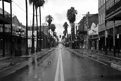 Photograph - Ybor City And Irma by David Lee Thompson