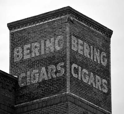 Cigar Factory Photograph - Ybor City Bcf Sign by David Lee Thompson