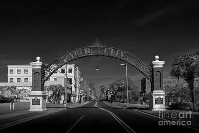 Old Brick Building Photograph - Ybor City Entry by Marvin Spates