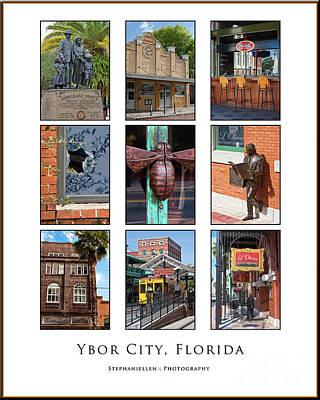 Ybor City Poster Art Print