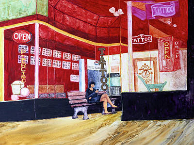 Painting - Ybor Ink by Patricia Beebe