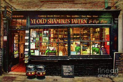 Photograph - Ye Old Shambles Tavern by Stuart Row