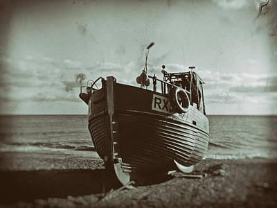 Angling Photograph - Ye Olde Fishing Fleet by Sharon Lisa Clarke