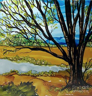 Painting - Ye Olde Oak by Terri Mills