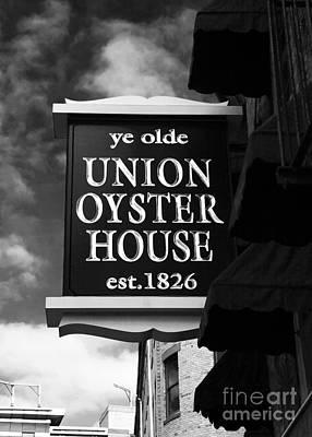 ye olde Union Oyster House Art Print by John Rizzuto