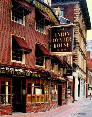 Ye Olde Union Oyster House Art Print by L O C