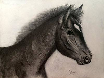 Painting - Yeager by Annamarie Sidella-Felts