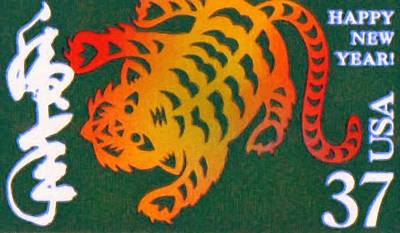 The Tiger Painting - Year Of The Tiger by Lanjee Chee