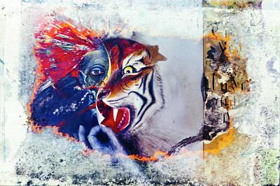 Artwork Painting - Year Of The Tiger by Leon Bonaventura and Filiberto Bonaventura